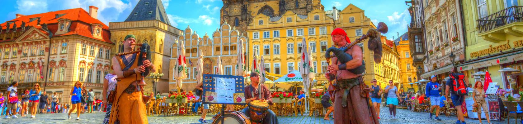 PRAG - BEČ - TELČ 4 DANA